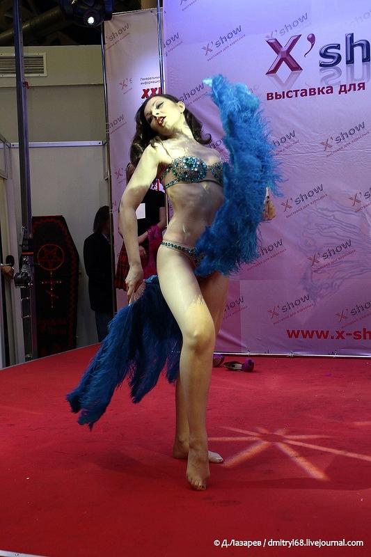 255 На выставке для взрослых «X'show 2012″ в Москве