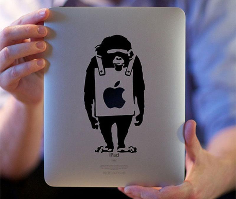 2613 33 креативных наклейки на ваш iPad