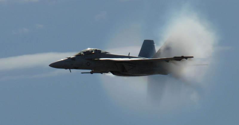 2632 30 лучших фотографий преодоления «звукового барьера» самолётами