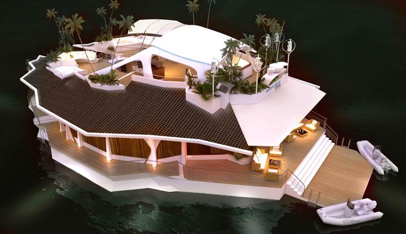 2651 Судно остров
