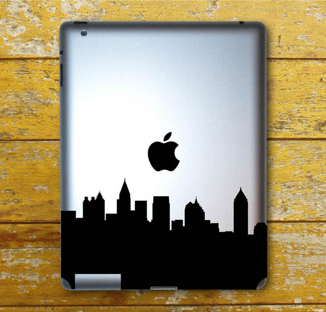2713 33 креативных наклейки на ваш iPad