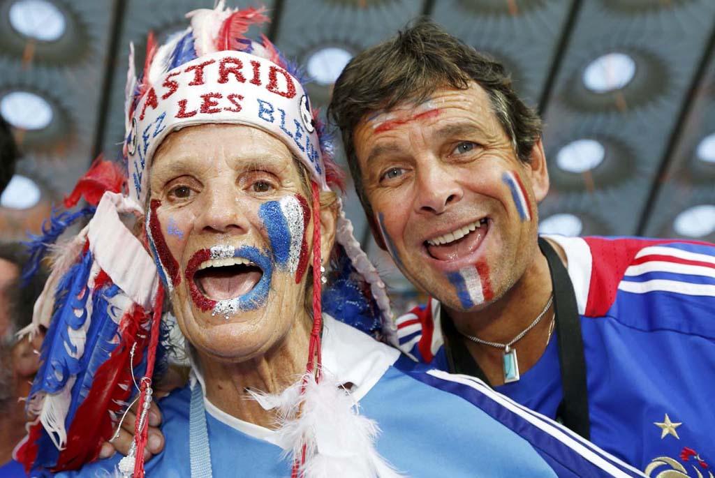 2750 Горячие фаны Евро 2012