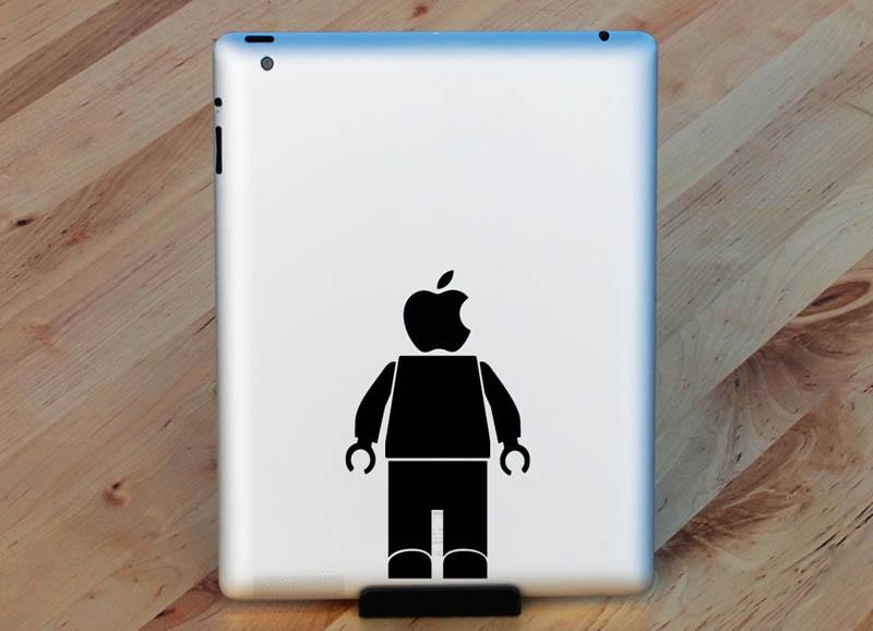 2811 33 креативных наклейки на ваш iPad