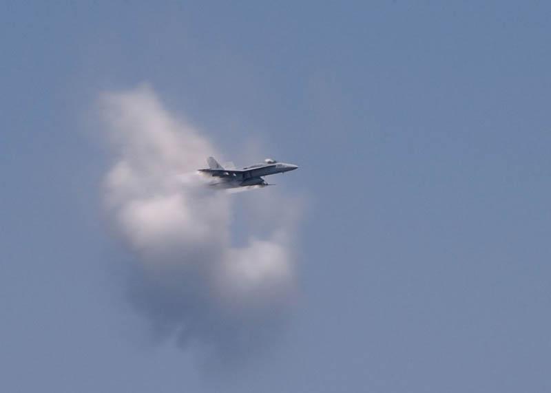 2926 30 лучших фотографий преодоления «звукового барьера» самолётами