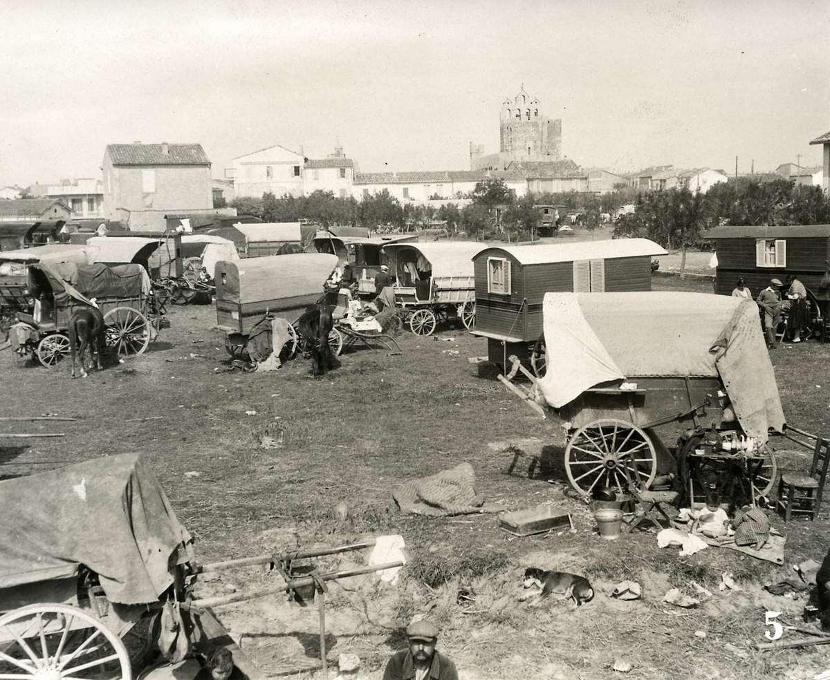 2930 Жизнь цыган в Европе до Второй Мировой войны