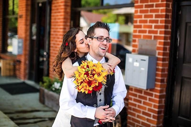 311 Свадьба в стиле игры Minecraft