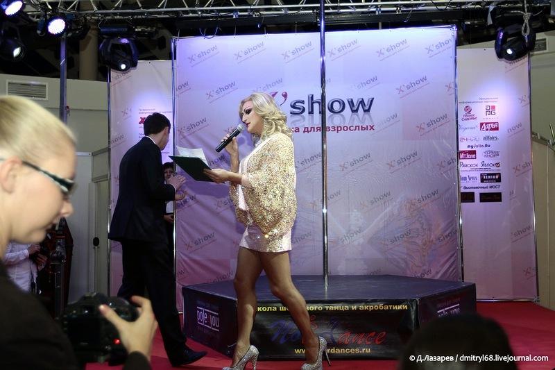 3111 На выставке для взрослых «X'show 2012″ в Москве