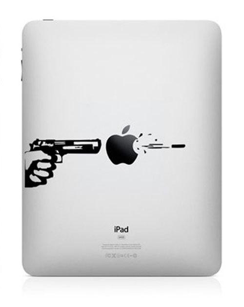3118 33 креативных наклейки на ваш iPad