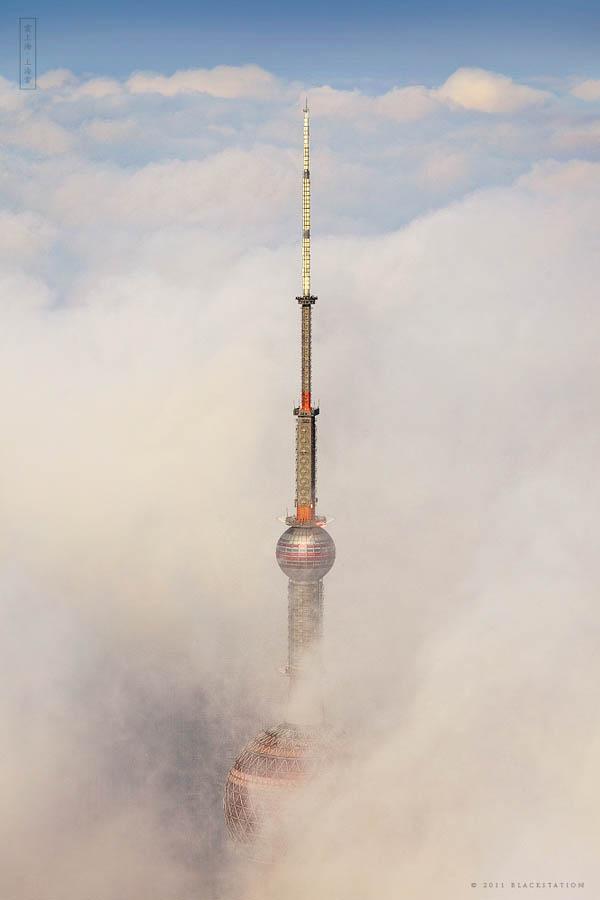 3140 Небоскребы Шанхая