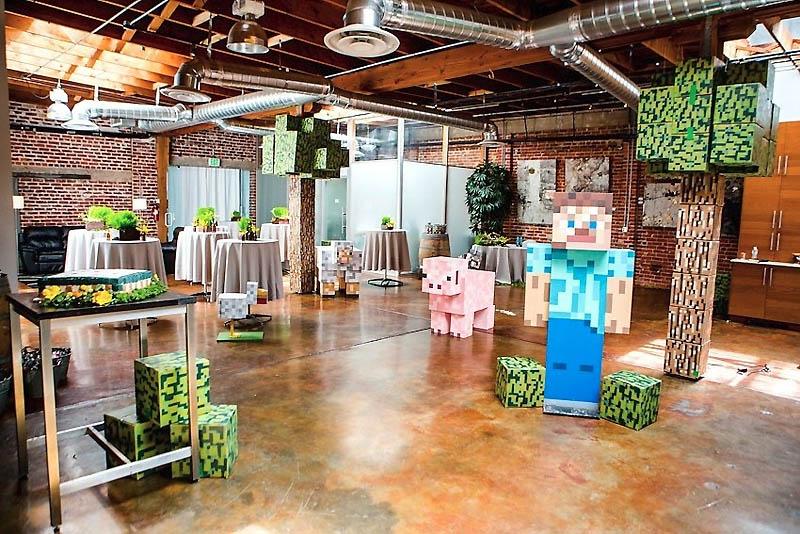 32 Свадьба в стиле игры Minecraft