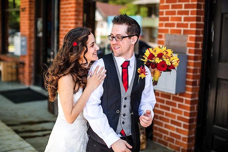 321 Свадьба в стиле игры Minecraft