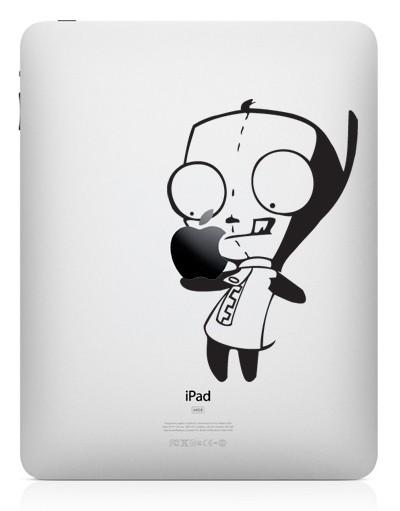 3213 33 креативных наклейки на ваш iPad