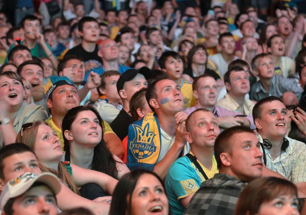 3321 Евро 2012   фанаты