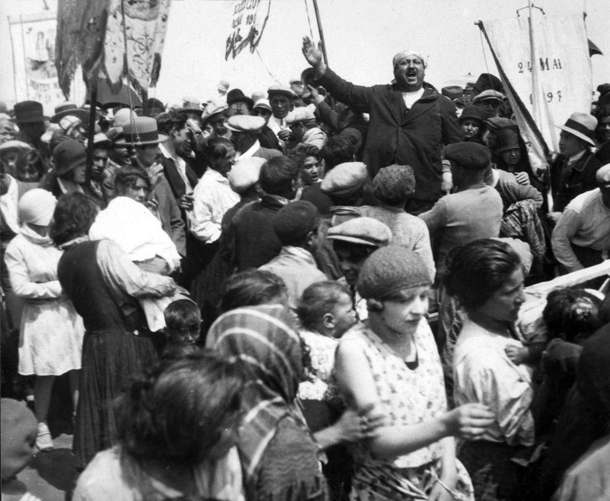3327 Жизнь цыган в Европе до Второй Мировой войны