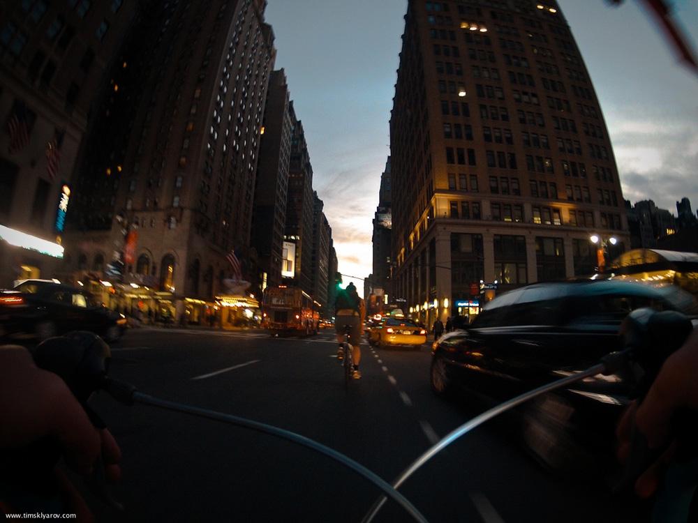 350 Нью Йорк глазами дорожного велосипеда