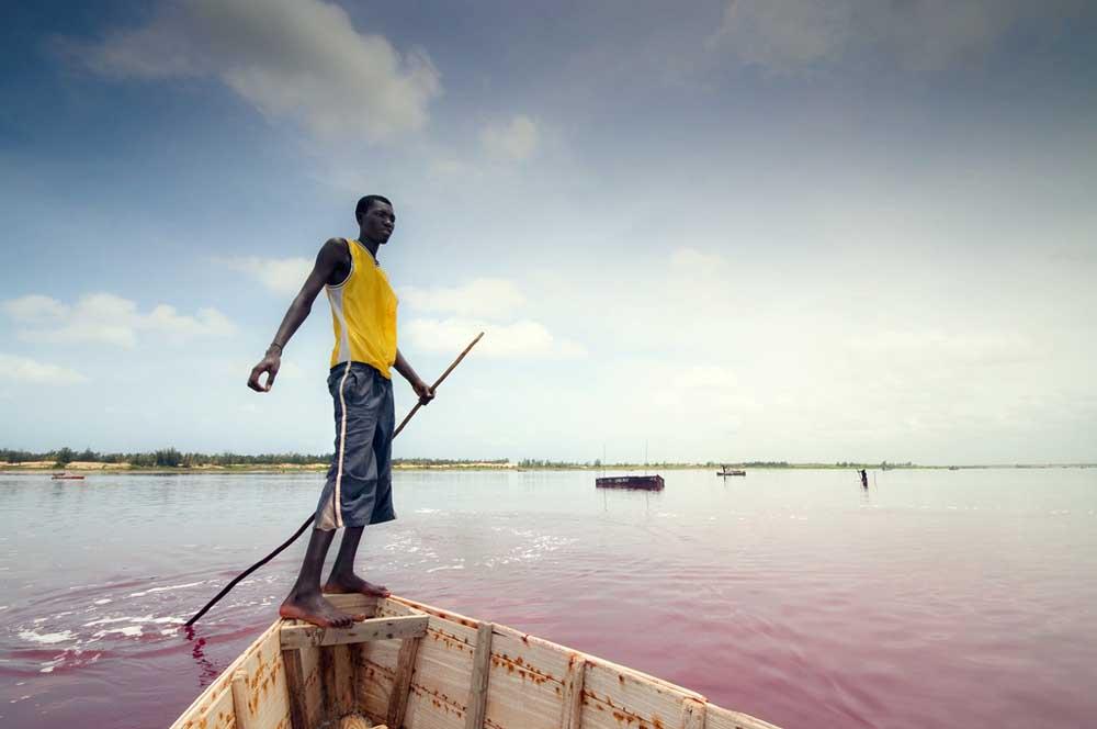 3870986627 bc115f7eef b Розовое озеро в Сенегале