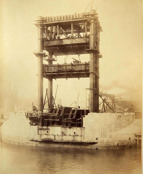 4 Как строился Тауэрский мост