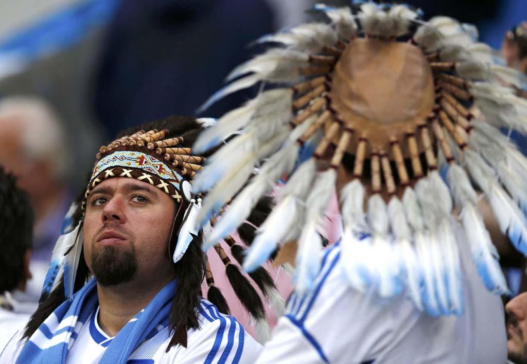 4019 Горячие фаны Евро 2012