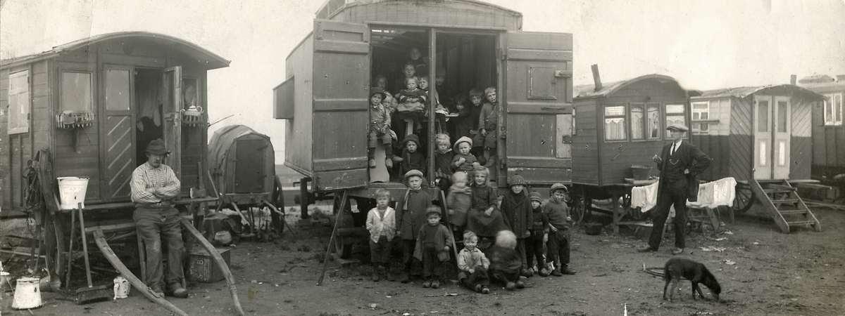 4136 Жизнь цыган в Европе до Второй Мировой войны
