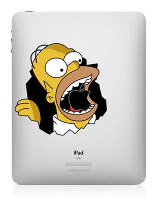 444 33 креативных наклейки на ваш iPad