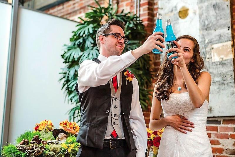 521 Свадьба в стиле игры Minecraft
