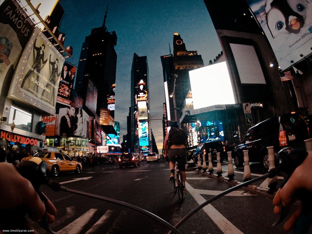 534 Нью Йорк глазами дорожного велосипеда