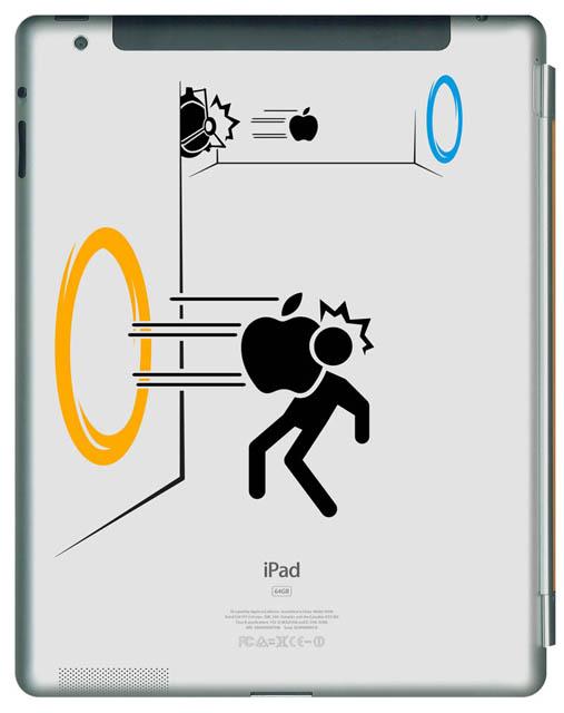 540 33 креативных наклейки на ваш iPad