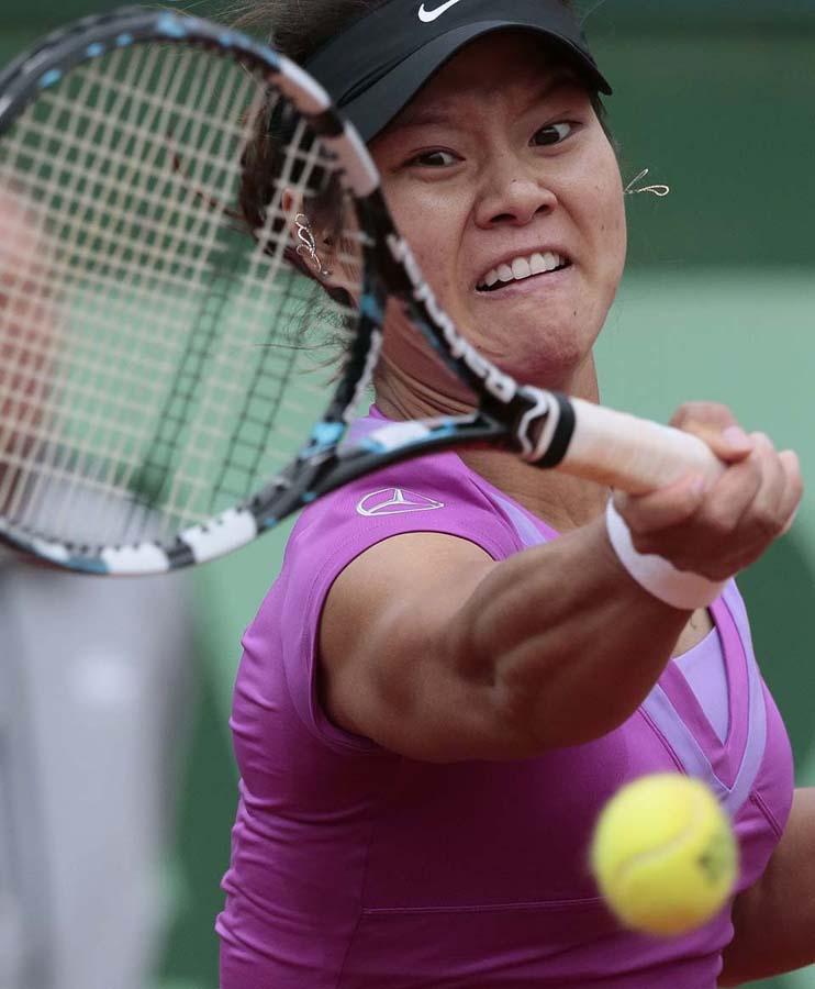 544 Смешные лица открытого теннисного турнира Ролан Гаррос