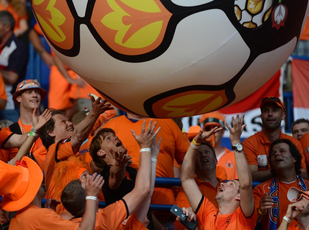 594 Евро 2012   фанаты