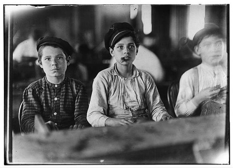 596 Детский труд в истории