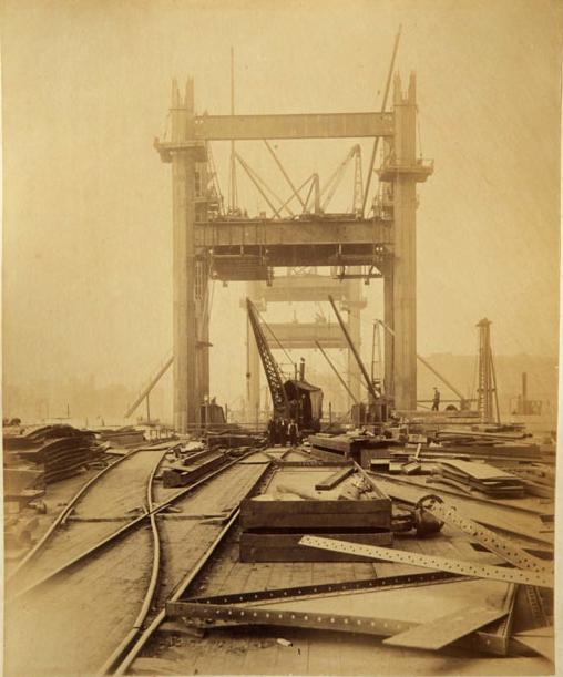 6 Как строился Тауэрский мост