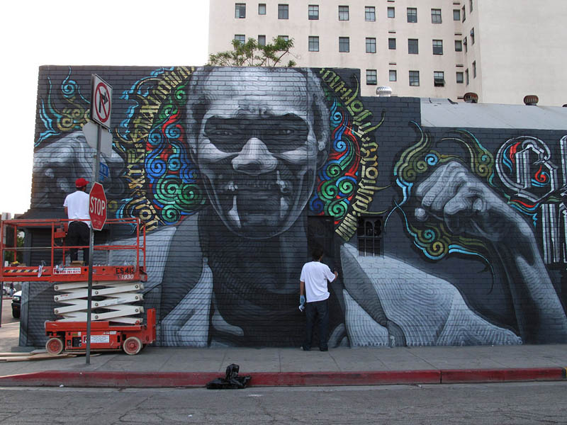 6131 Граффити от Эль Мак