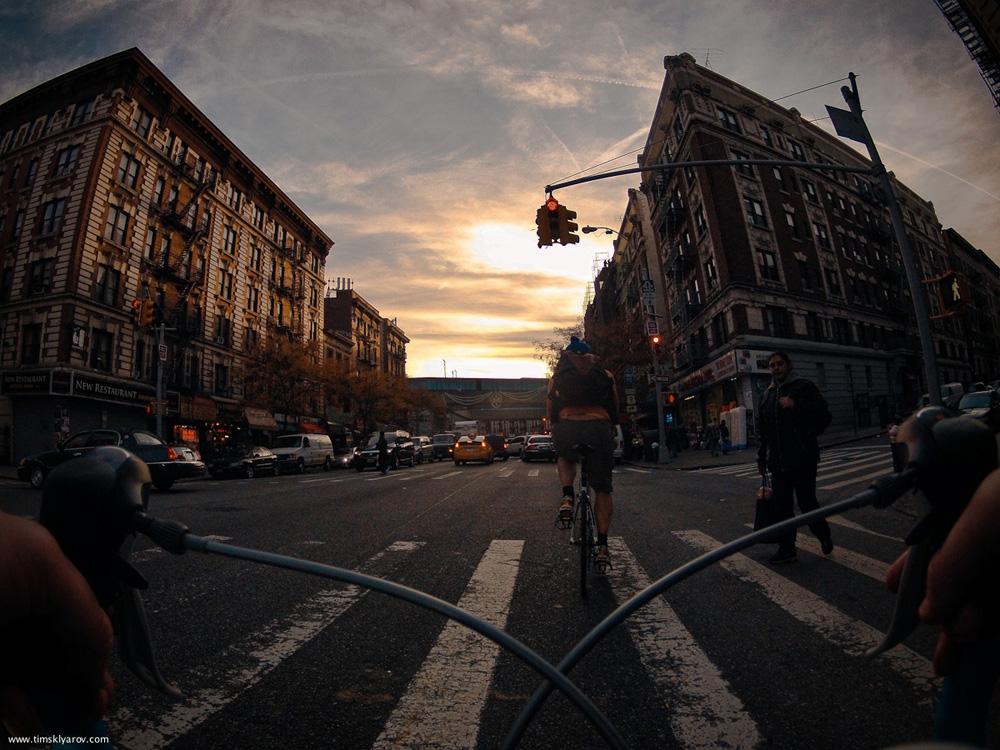 629 Нью Йорк глазами дорожного велосипеда