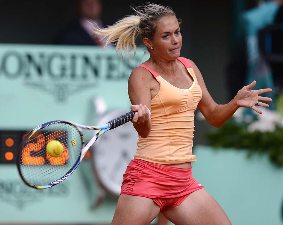 637 Смешные лица открытого теннисного турнира Ролан Гаррос