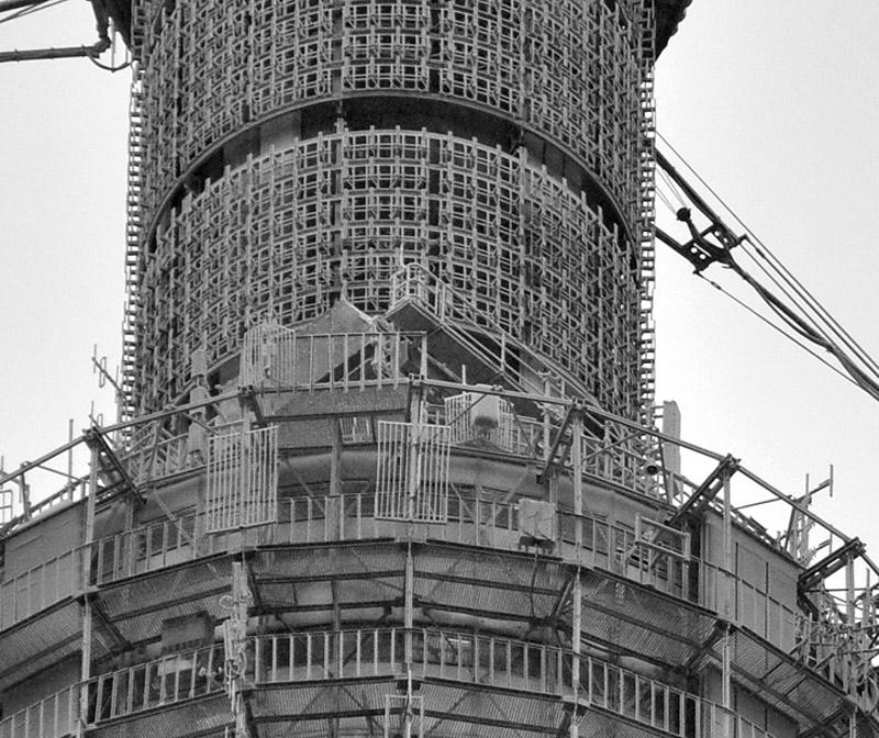 642 18 кадров о том, как строили Останкинскую башню