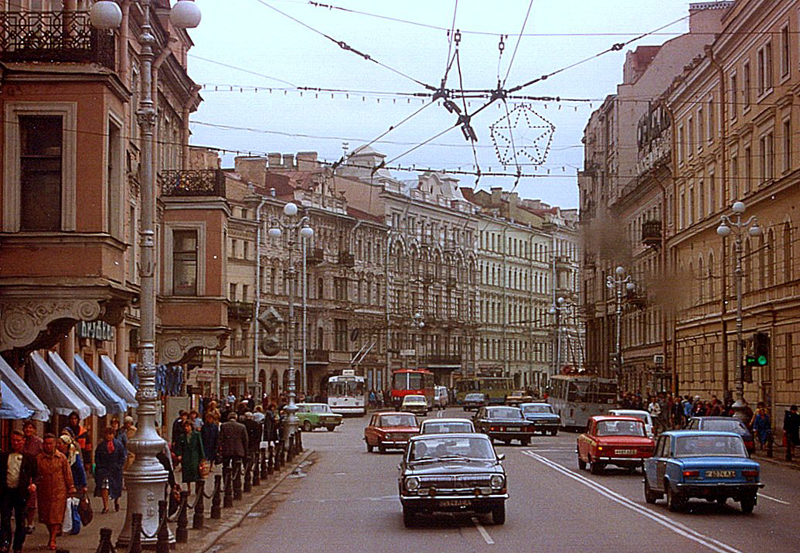 711 Советский Союз 1989 года глазами американца