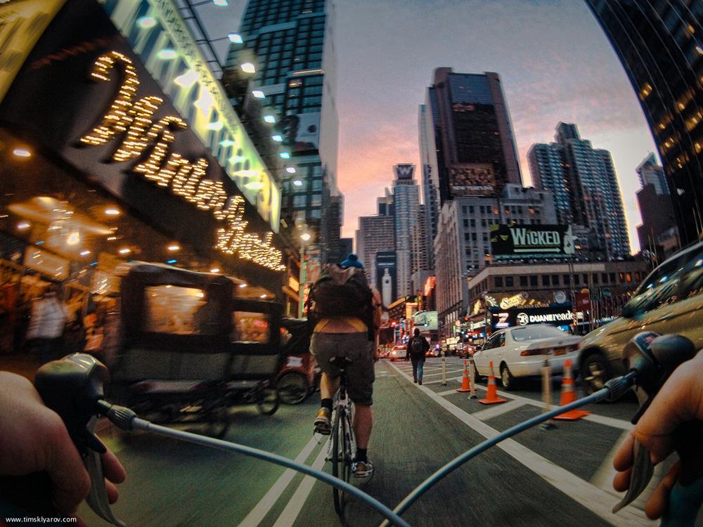 725 Нью Йорк глазами дорожного велосипеда