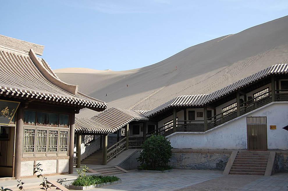 73 Озеро полумесяц   китайский оазис в пустыне