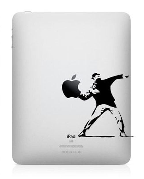 730 33 креативных наклейки на ваш iPad
