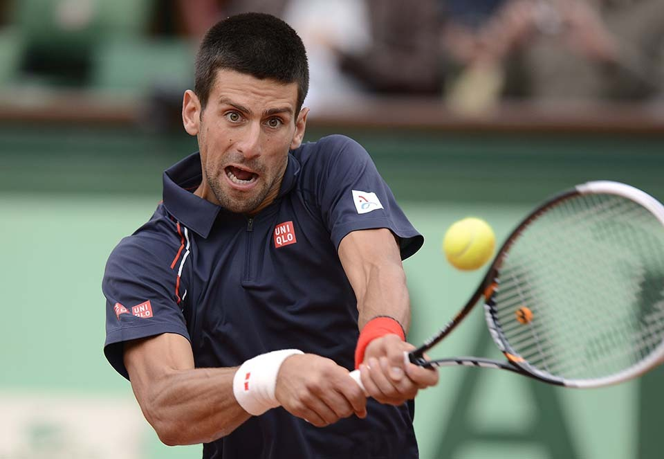 733 Смешные лица открытого теннисного турнира Ролан Гаррос