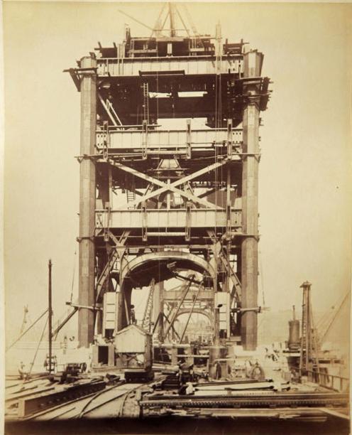 8 Как строился Тауэрский мост