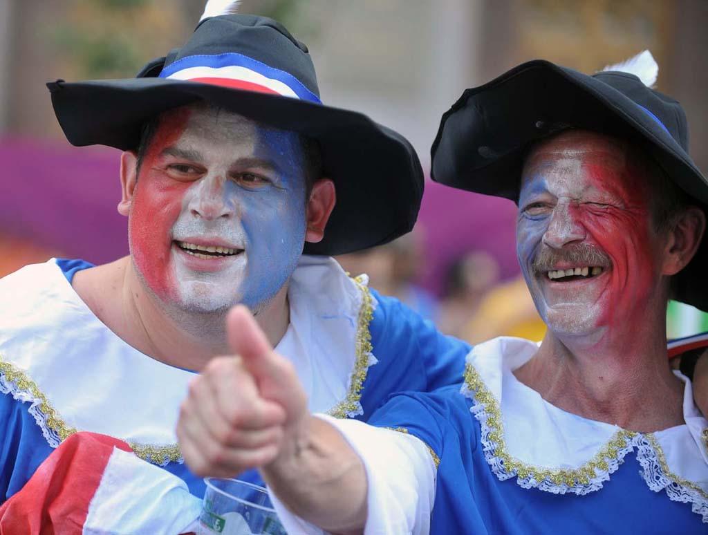 8134 Горячие фаны Евро 2012