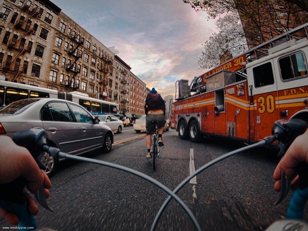 825 Нью Йорк глазами дорожного велосипеда
