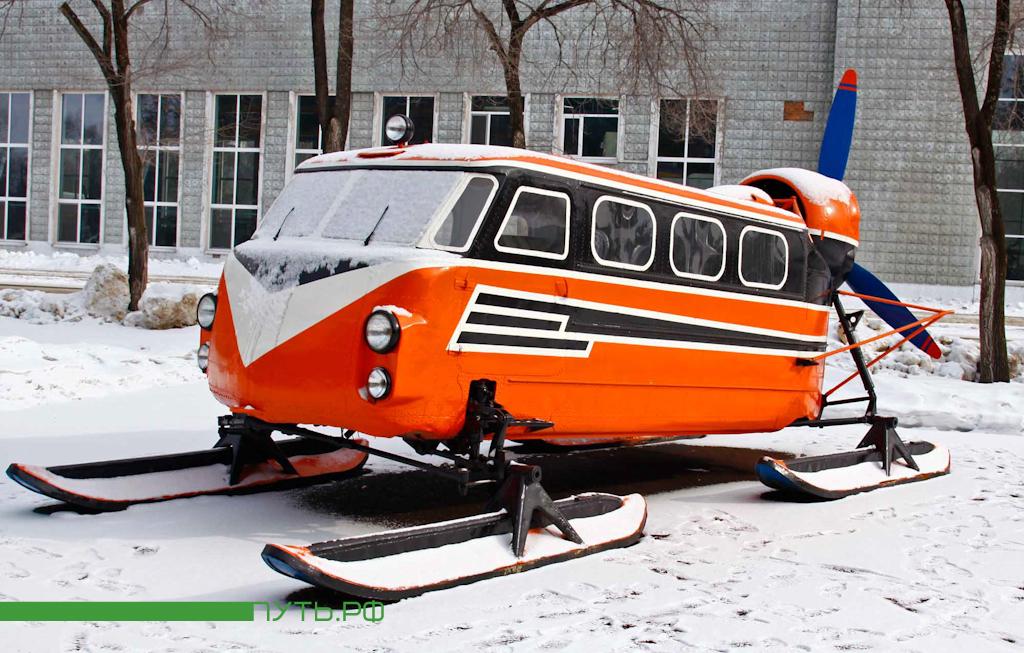 829 Что общего между автобусом на лыжах и вертолетом?