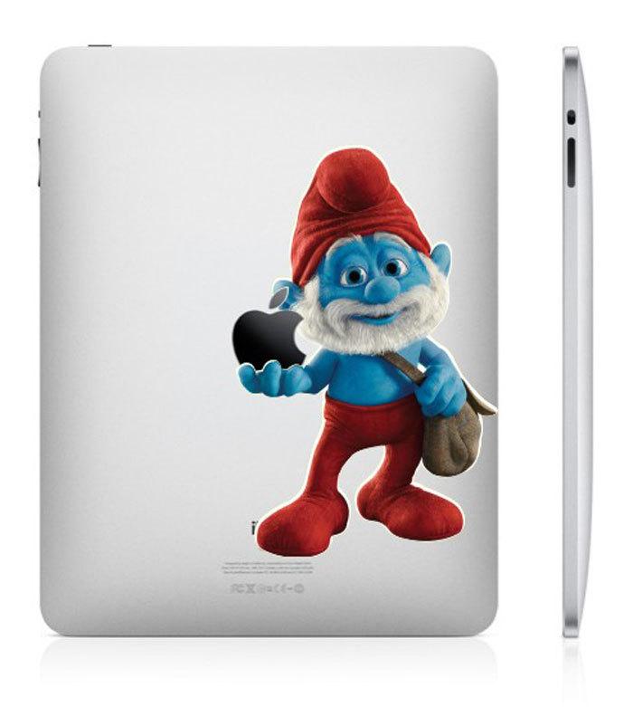 830 33 креативных наклейки на ваш iPad