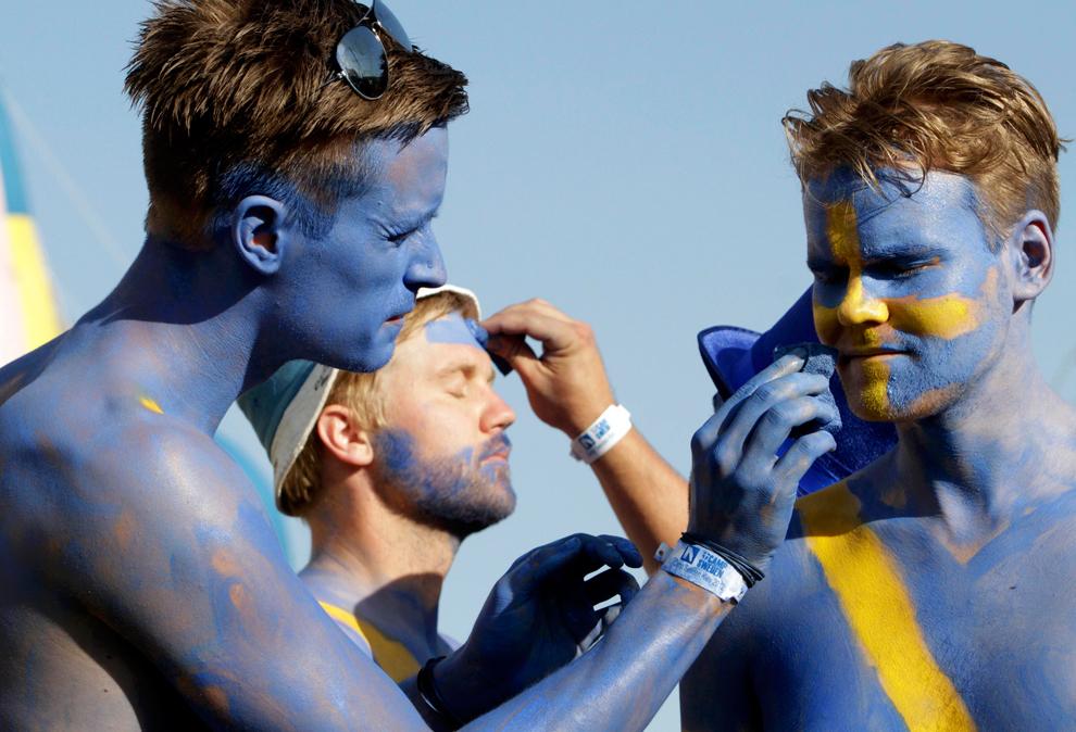 872 Евро 2012   фанаты