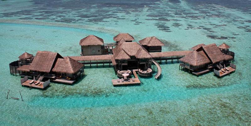 9 Удивительные домики отеля Soneva Gili на Мальдивах