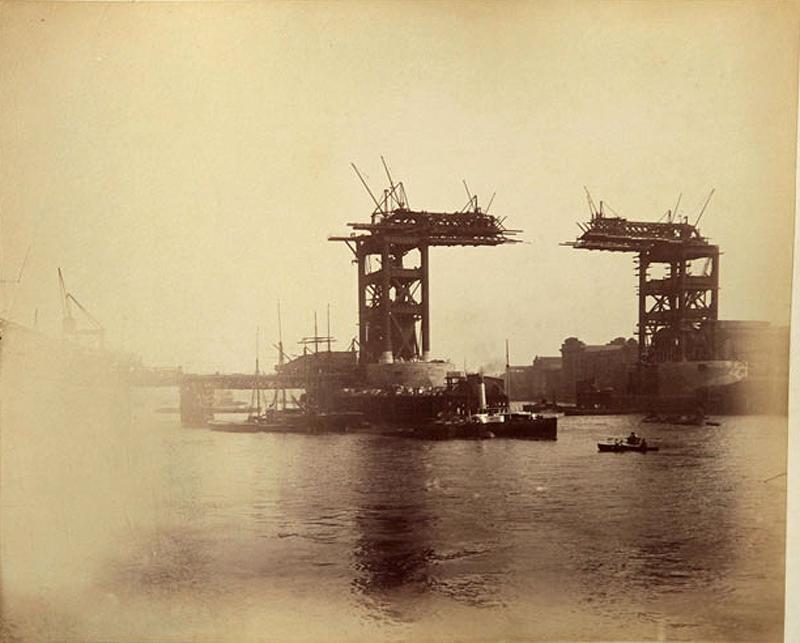 9 Как строился Тауэрский мост