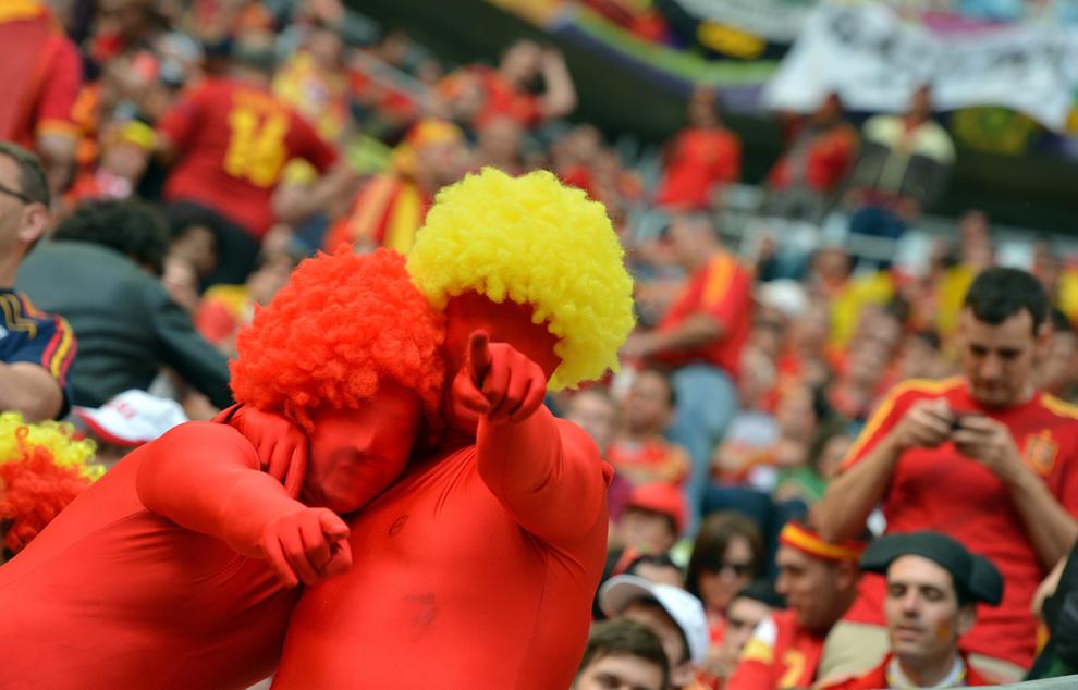 965 Евро 2012   фанаты