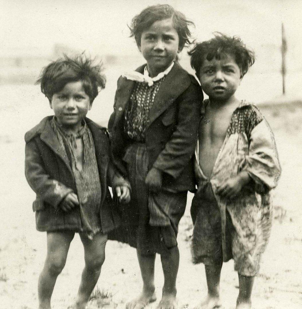 987 Жизнь цыган в Европе до Второй Мировой войны